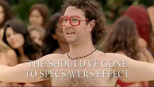 The Should've Gone to Spec Savers Effect