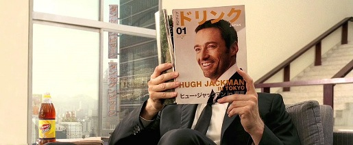 Hugh Jackman in Lipton Ice Tea ad