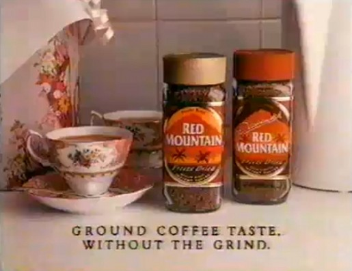 Red Mountain Ground Coffee without the Grind