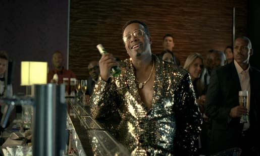 MC Hammer in Castle Lite commercial