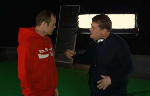 Rooney and Corden in Coca Cola FIFA Celebration commercial
