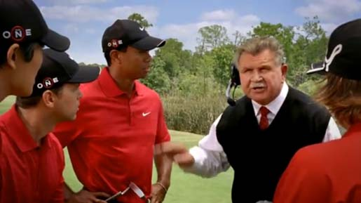 Tiger Woods EA Sports commercial