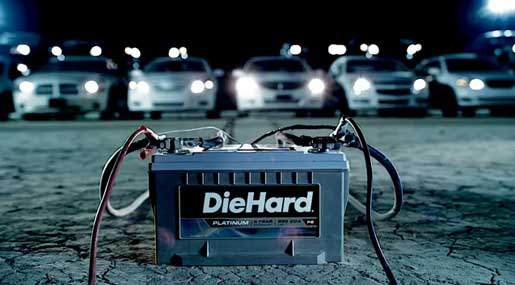 Diehard Battery Cars in Gary Numan commercial