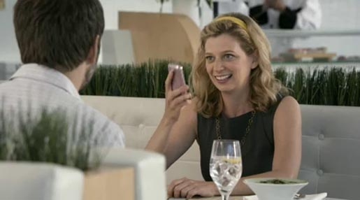 Sprint Unlimited Restaurant ad
