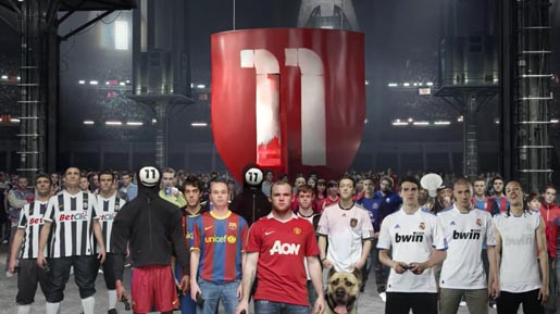 FIFA 11 We Are 11 players