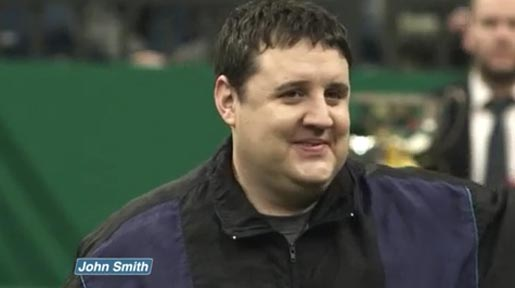 Peter Kay in John Smith Dogs ad