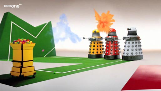 BBC One Daleks