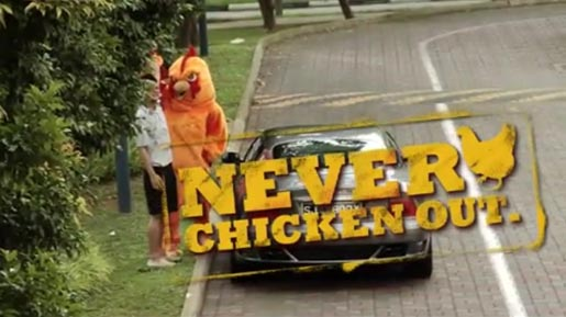 Burger King Never Chicken Out