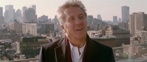 Dustin Hoffman in Sky Atlantic ad