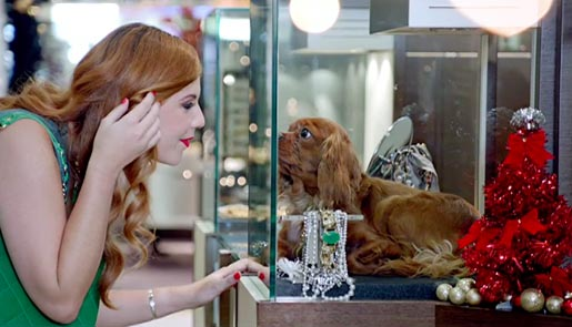 Harvey Nichols Redhead with Dog