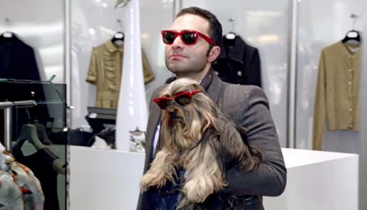 Harvey Nichols Sunglasses Dog