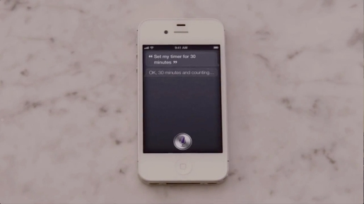 iPhone 4S Siri 30 Minute Timer