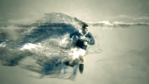 ITV Rugby World Cup Titles commercial