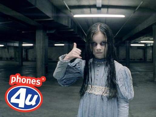 Phones4U Haunting Ghost