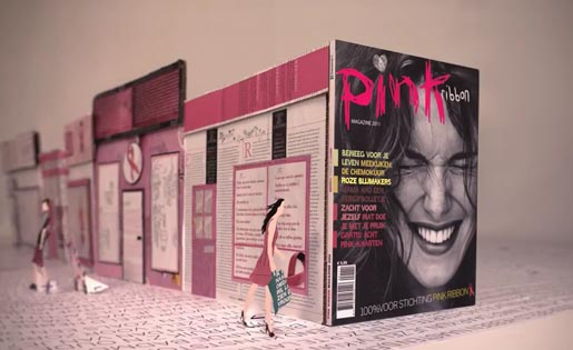 Pink Magazine commercial