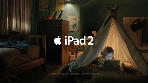 iPad 2 Love commercial