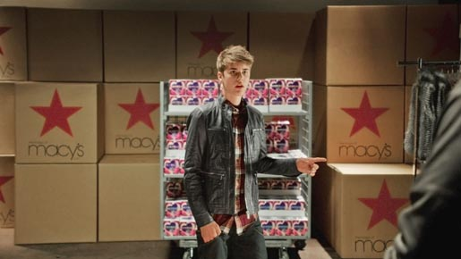 Macy's Justin Bieber Black Friday ad