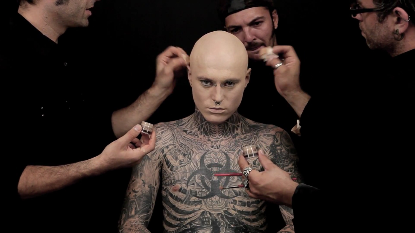 Dermablend Zombie Boy - The Inspiration Room