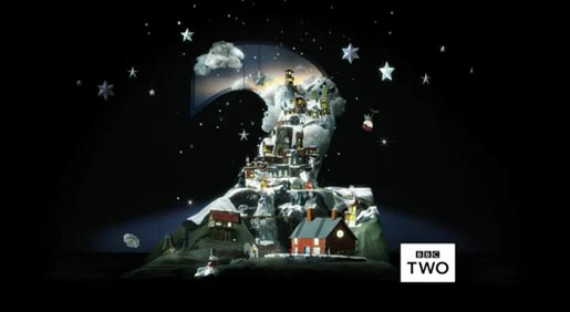 BBC Two Christmas Ident 2011