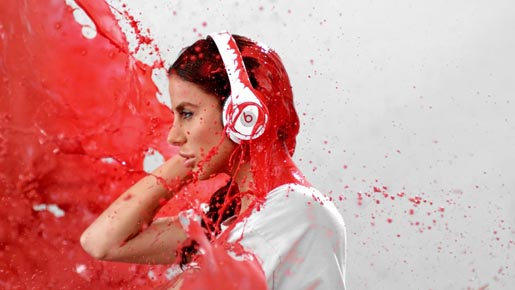 Beats by Dre Red Vildane Zeneli
