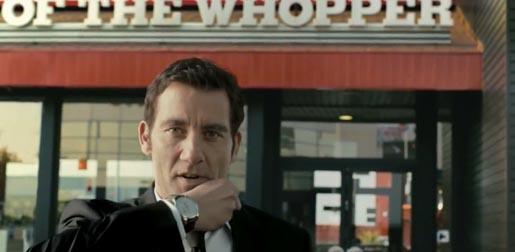 Clive Owen Burger King ad