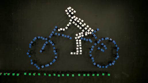 Earth Hour Bicycle