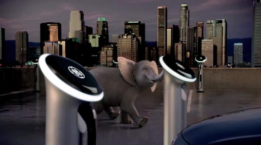 GE Elephant in Ellie 2 television commercial