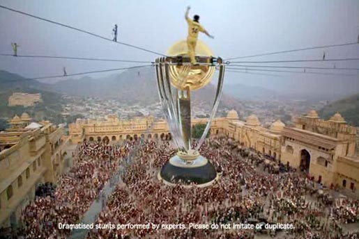 ICC World Cup Tightrope