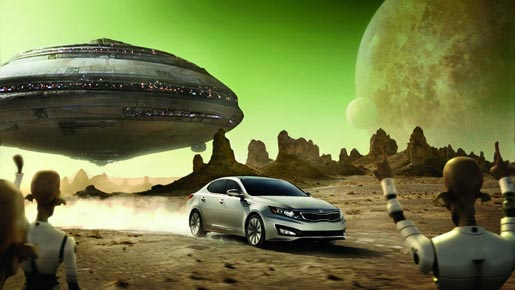 Kia Epic Ride aliens