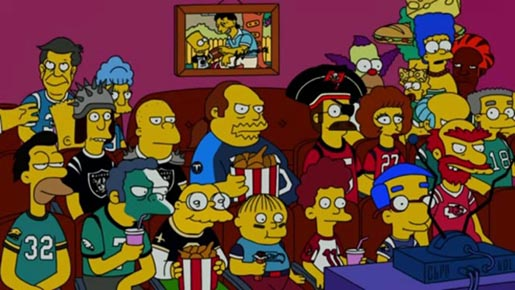NFL American Family The Simpsons