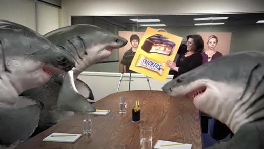 Snickers Shark Focus Group