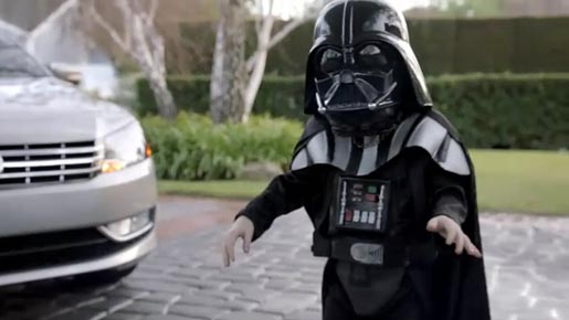 Volkswagen Darth Vader Child