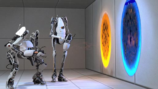 Atlas and P-Body in Valve Portal 2 Preorder 2 ad