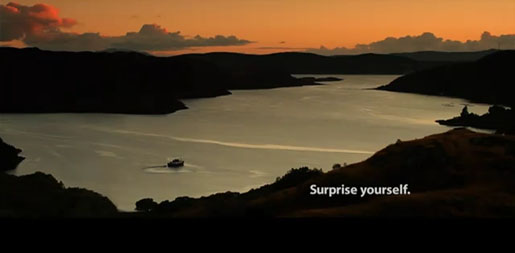 VisitScotland Surprise Yourself commercial