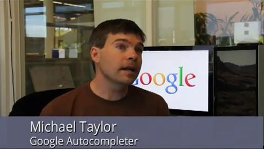 Google Search Autocompleter Michael Taylor