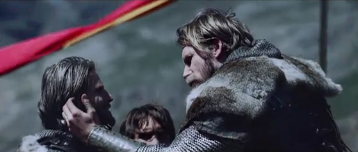 Sky King Arthur and Lancelot