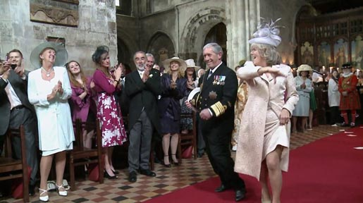 Charles and Camilla in T-Mobile Royal Wedding Entrance Dance