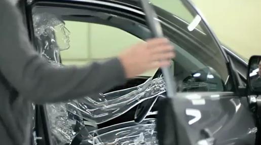 Toyota Glass Crash Test Dummy