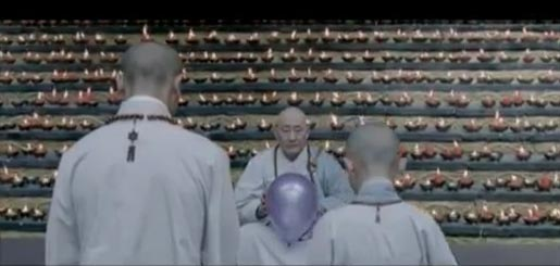 Cadbury Monks with balloon