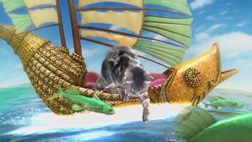 Friskies 3D Fish Boat