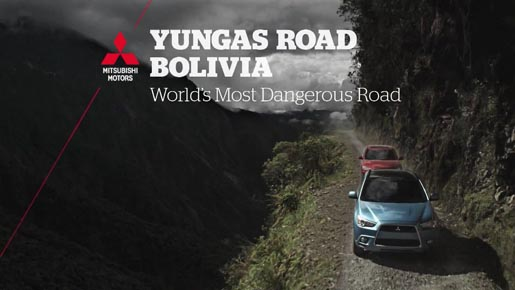 Mitsubishi World's Most Dangerous Road