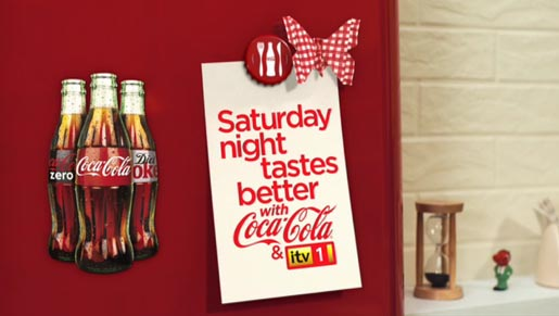 Saturday Night Tastes Better with Coca Cola and ITV