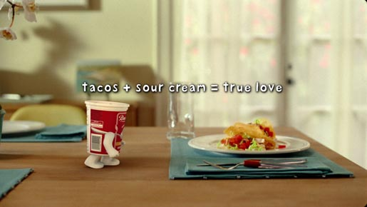 Tacos + Sour = Cream True Love
