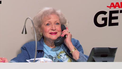 Betty White Get Over It a Thon