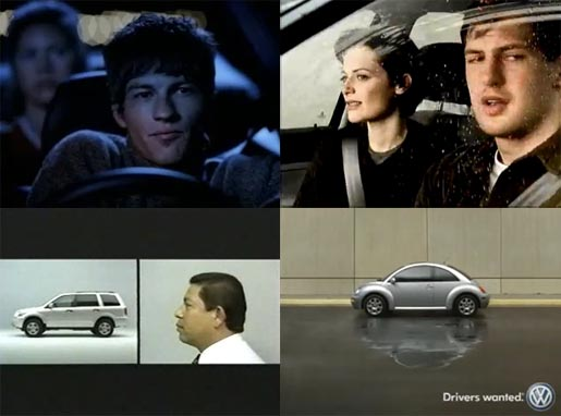 Four Car Commercials