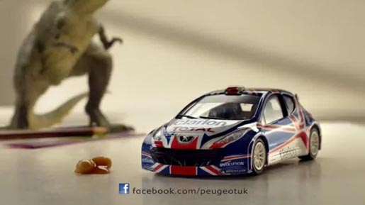 Peugeot 207 Childs Play commercial