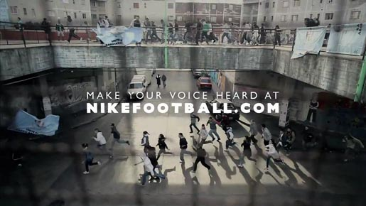 Nike Argentina Make Your Voice heard commercial