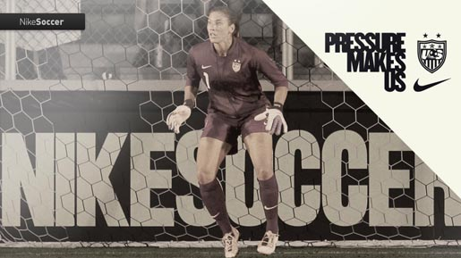 Nike Pressure Makes Us Womens Soccer team