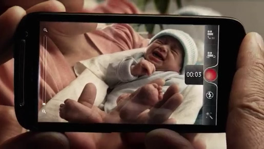 Telecom Smartphone Network Baby video