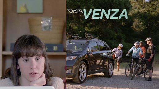 Toyota Venza Social Network